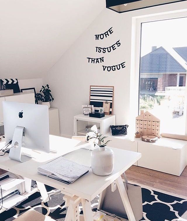 Pin by ine vandenaweele on Home Office Pinterest - homeoffice einrichtung ideen interieur