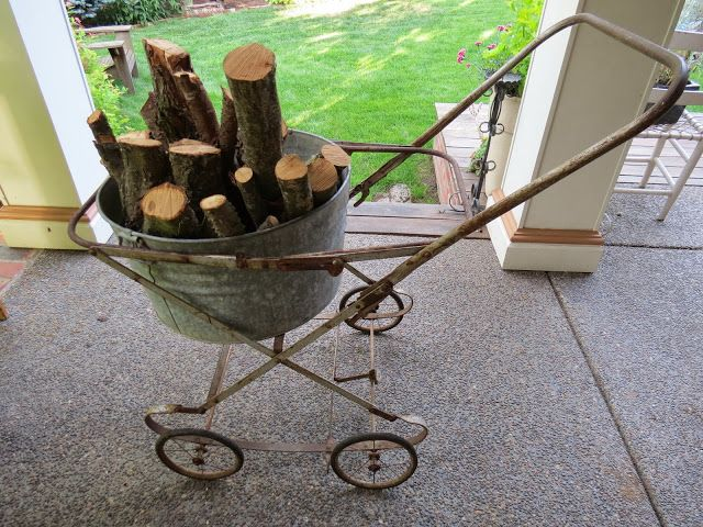 Baby Buggy Wood Carrier