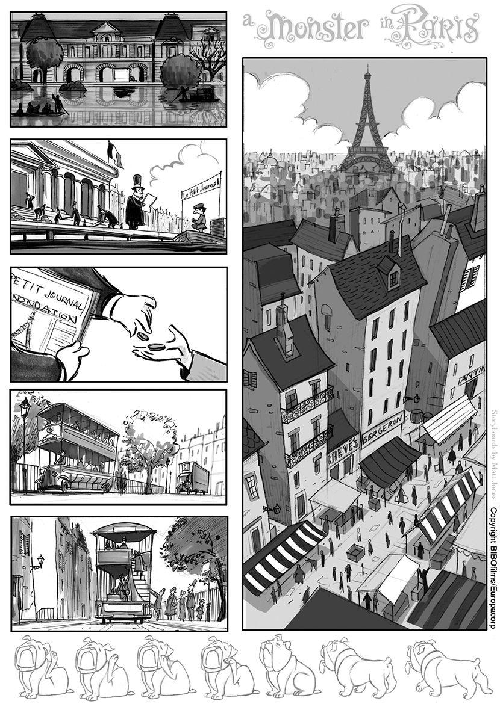 Matt Jones: A Monster In Paris- finally released in the US!