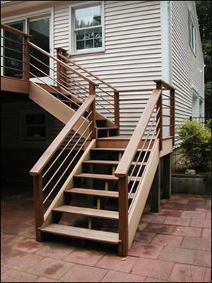 Deck Steps Simplified Building Deck Steps Made Simple Deck Stairs