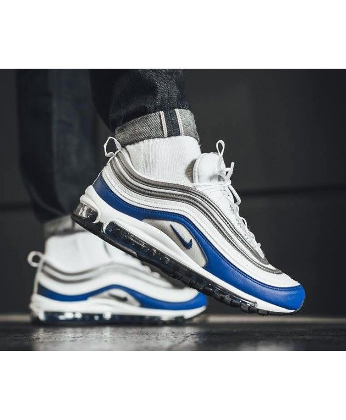 Men's Nike Air Max 97 Game Royal Heritage Trainer | black