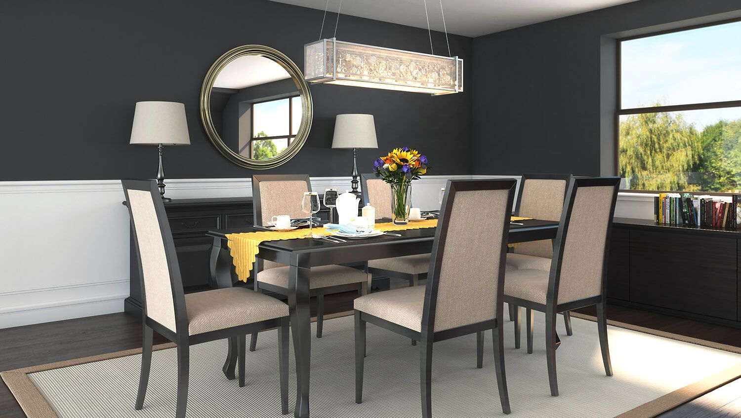 Pinhortons Home Lighting On Industry Trends  Dining Room Glamorous Trends In Dining Rooms Decorating Inspiration