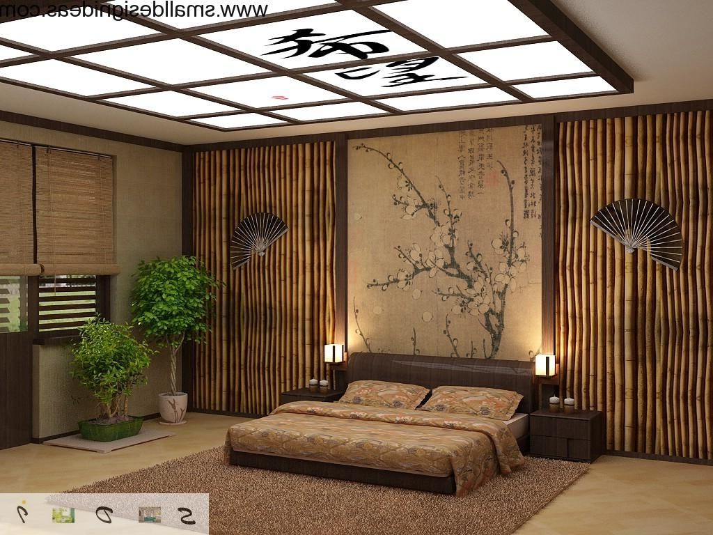 Japanese bed frame design - Modern Japanese Style Bedroom Design For Small Space