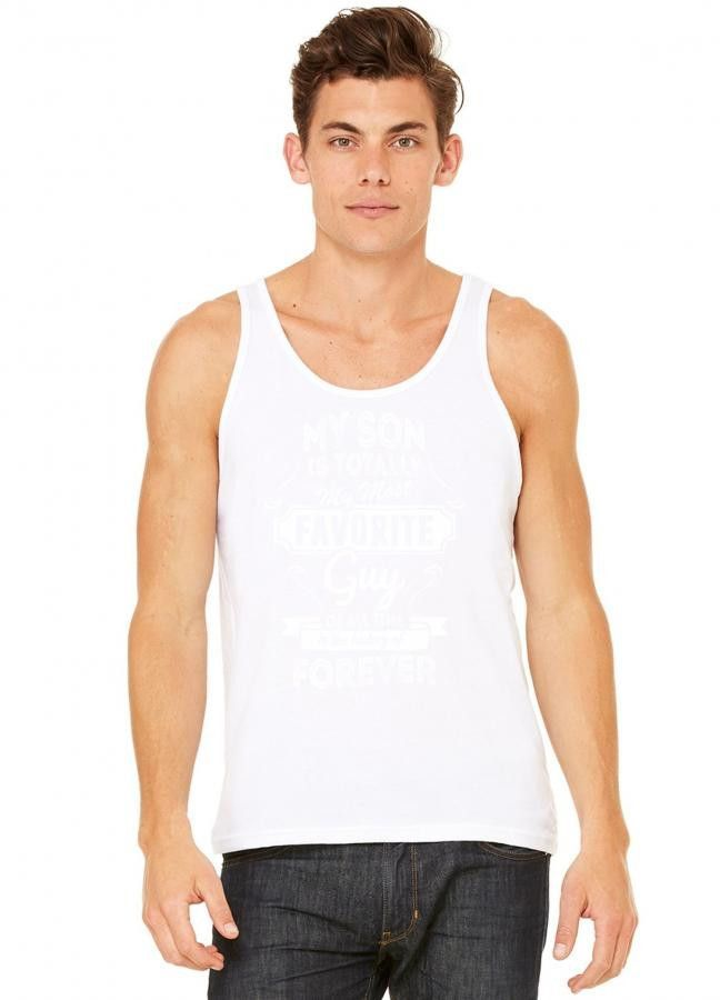 my son is totally my most favorite guy 2 tank top