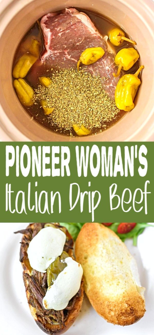 Pioneer Woman's Italian Drip Beef, it's what's for dinner and it's delicious, ENJOY!!