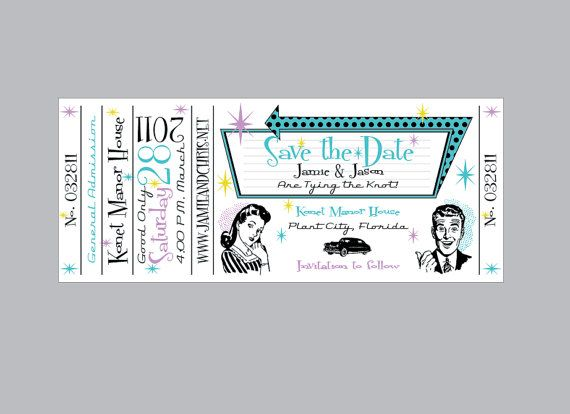 love this! Wedding Stuff Pinterest Concert tickets, Wedding - concert ticket design