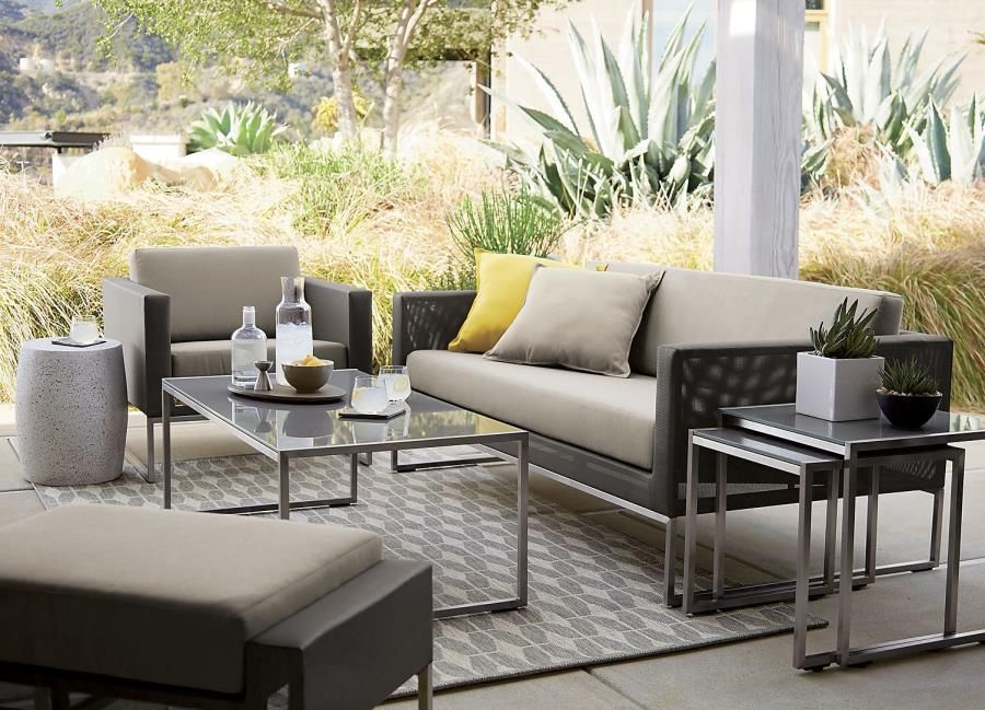 Exceptional Dune Furniture Collection From Crate Barrel