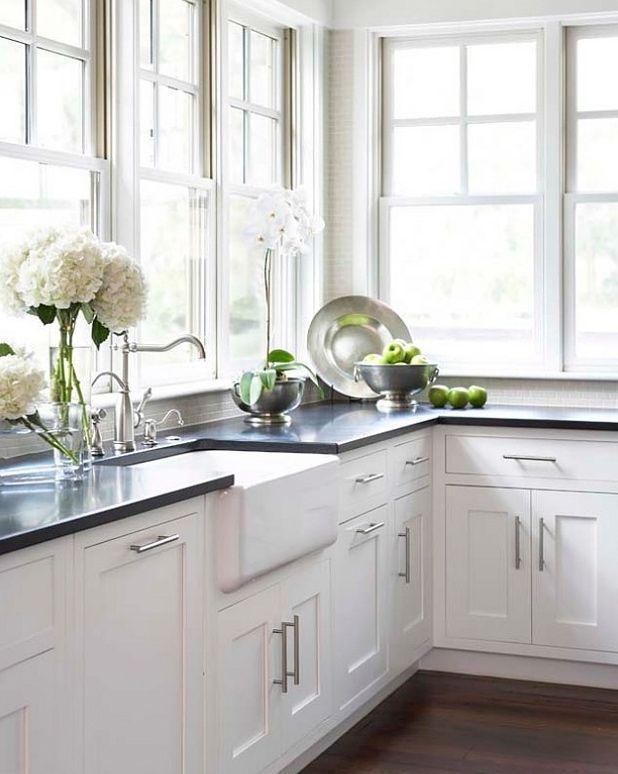 Best The Most Timeless Granite White Countertops Black 400 x 300