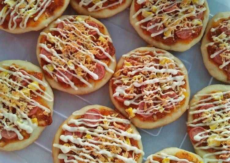 Mini Pizza Resep Resep Masakan Makanan