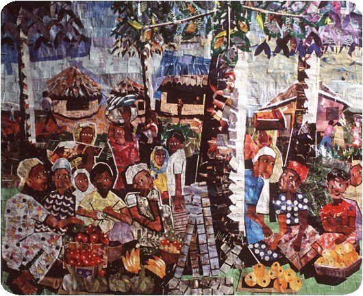 Rosemary Karuga | African artists | Pinterest | Collage, African ...