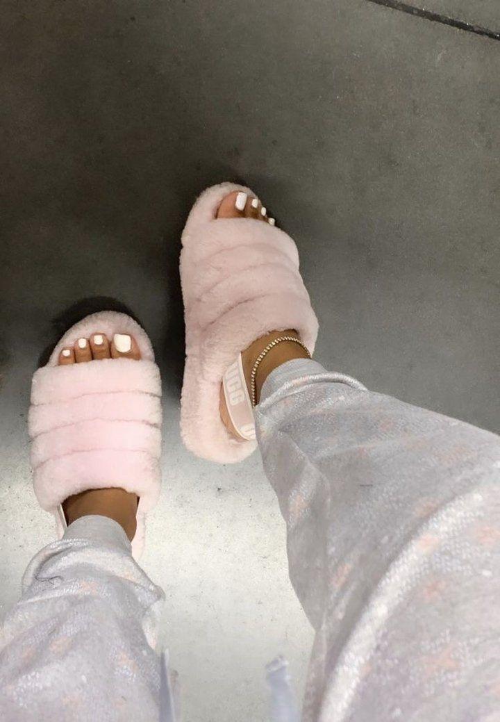 Baby Pink UGG Slides