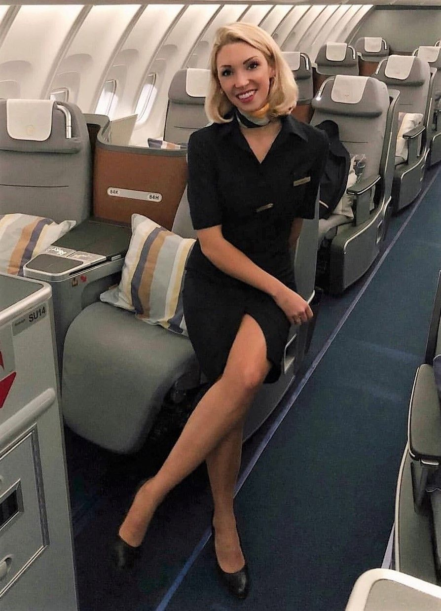 attendant flight hot sexy