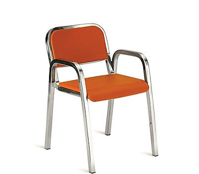Nine-0 Stacking Armchair - Soft Back