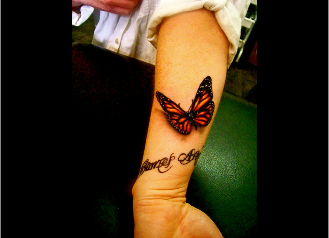 ButterflyTattooPicture10.png (660×478) Wrist tattoos