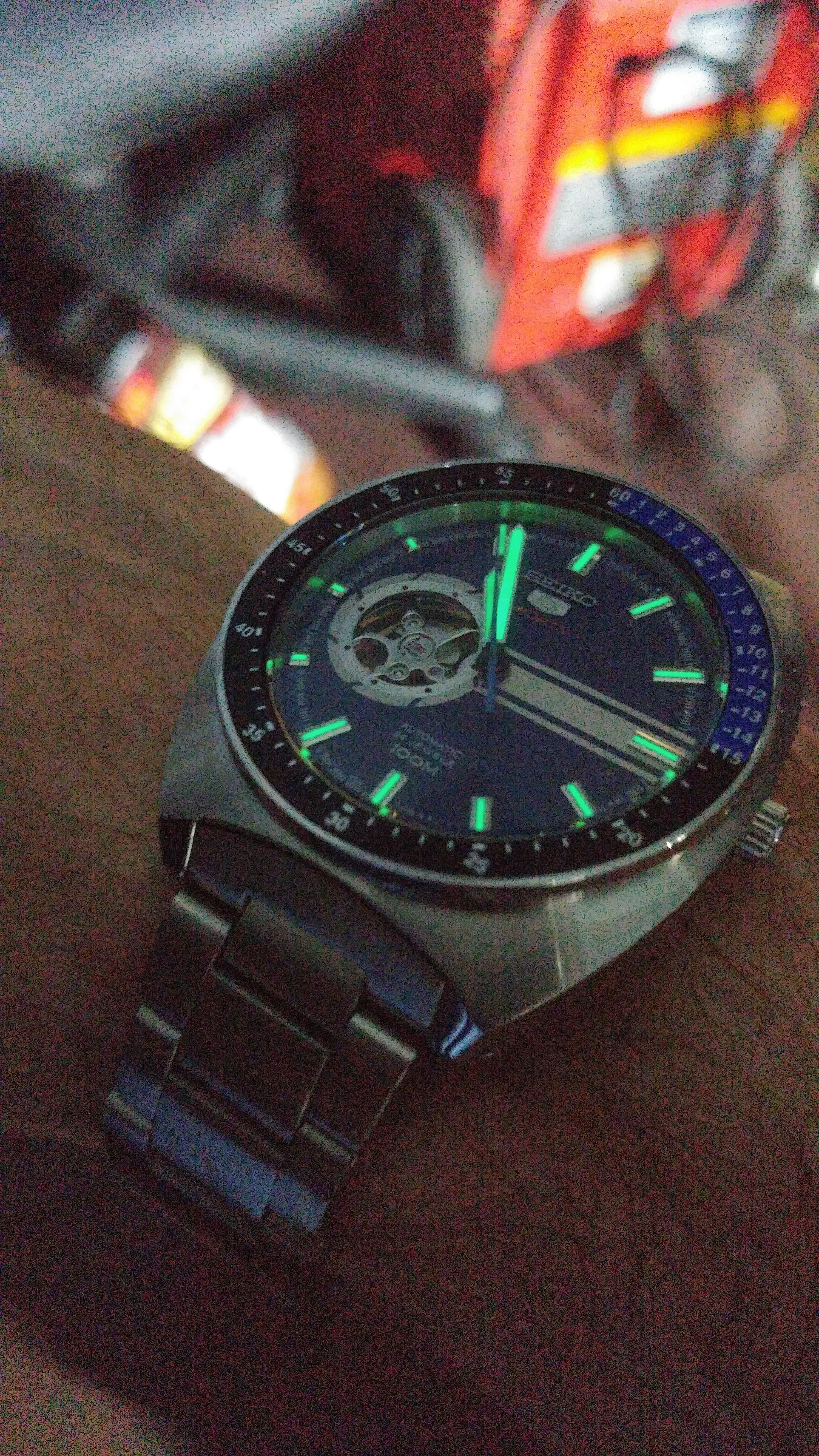 eeb82fc6a436 Seiko  SSA327 lights out via  r Watches