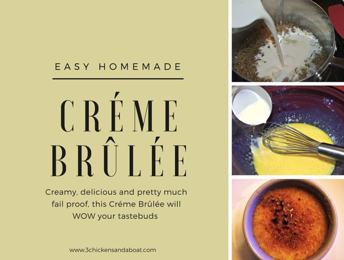 Creme brulee recipe easy to make great holiday dessert idea creme brulee recipe easy to make great holiday dessert idea homemade do it solutioingenieria Gallery