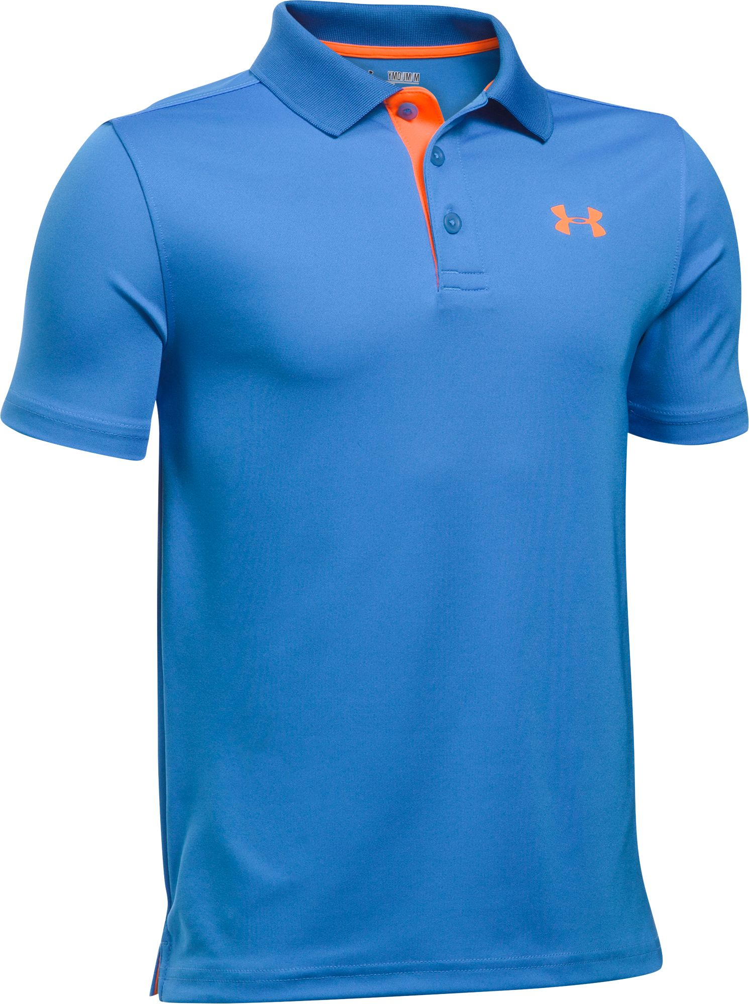 20002666 Under Armour Boys' Performance Golf Polo, Size: XS, Academy   Products