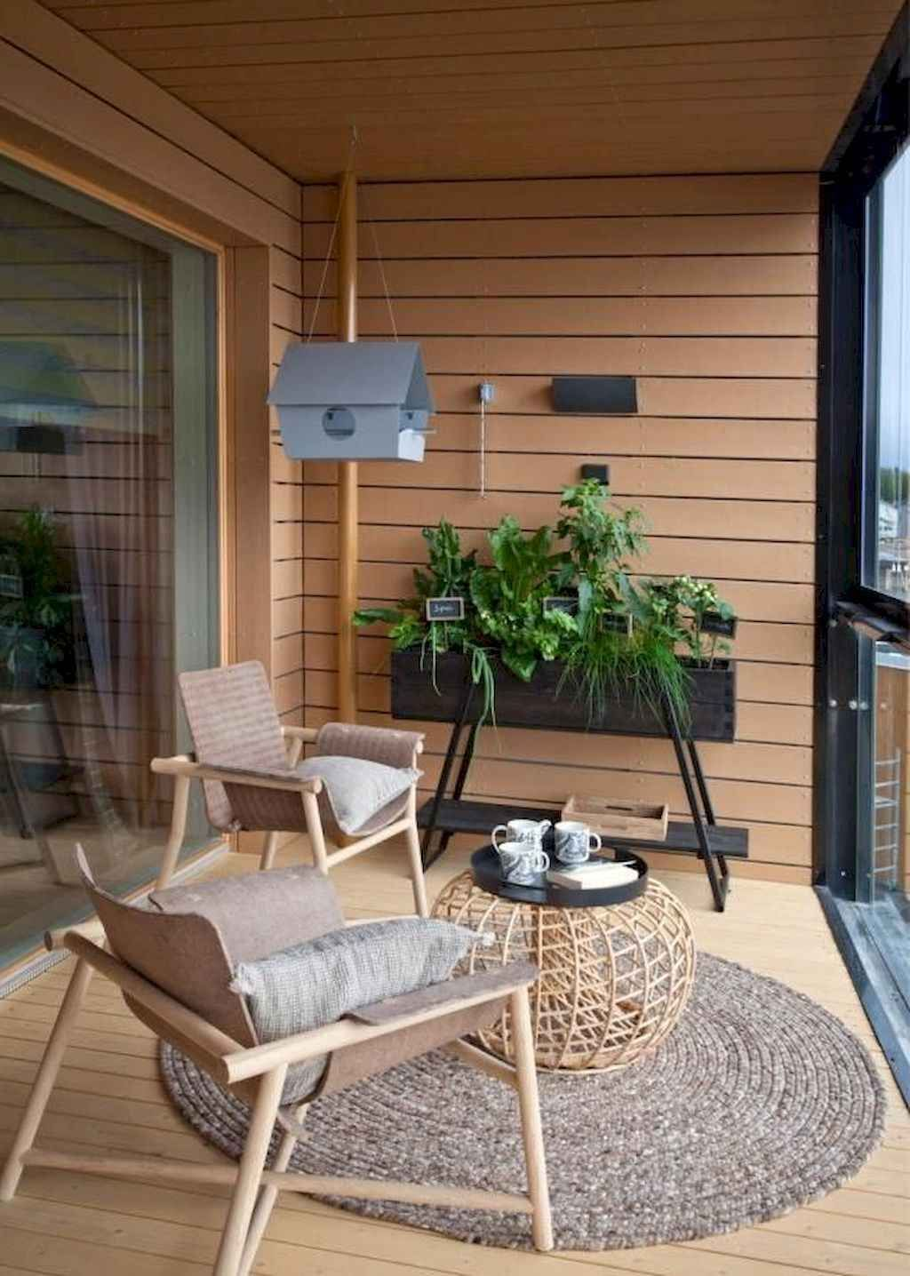 We have to create large spaces with small balconies as a result of the small houses and structures that are the result of modern times Especially considering that there a...