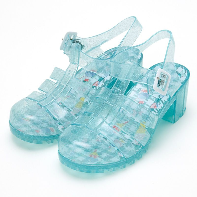 cinnamoroll originals baby blue jelly sandals us6 jelly sandals jelly shoes cute shoes pinterest