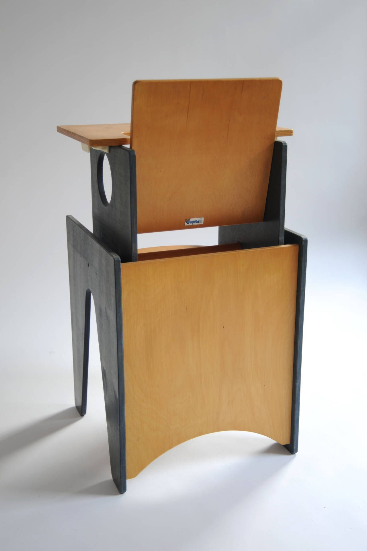 multifunctional desk and chair set or high chair by bopita circa
