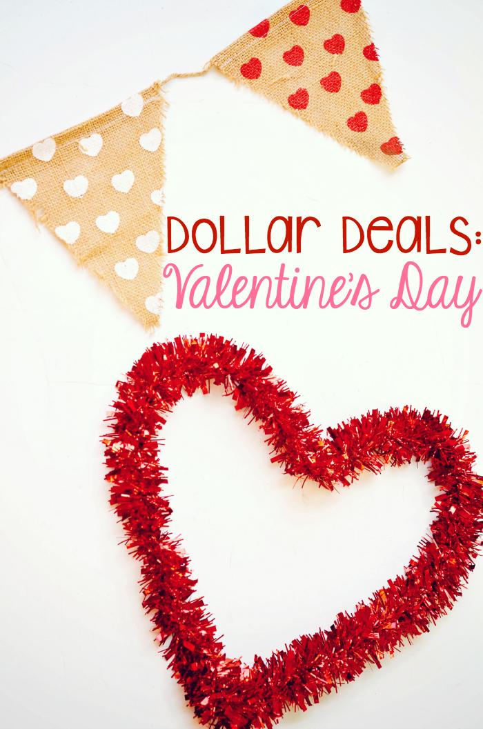 Dollar Deals: Cheap Valentineu0027s Day Decor + Gifts