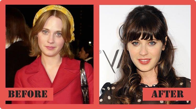 zooey deschanel plastic surgery before and after zooey deschanel