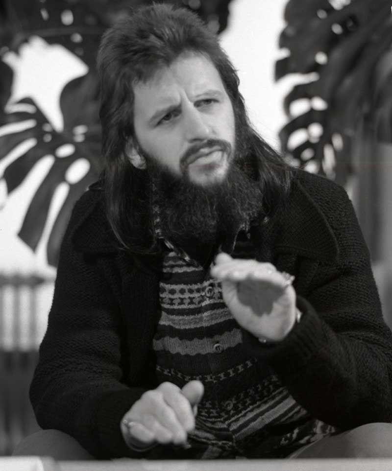 Ringo Starr 1972 Photo By Bara Istvan