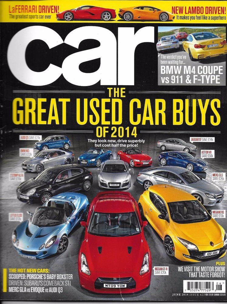Car auto magazine Great used auto buys BMW Coupe Porsche LaFerrari ...