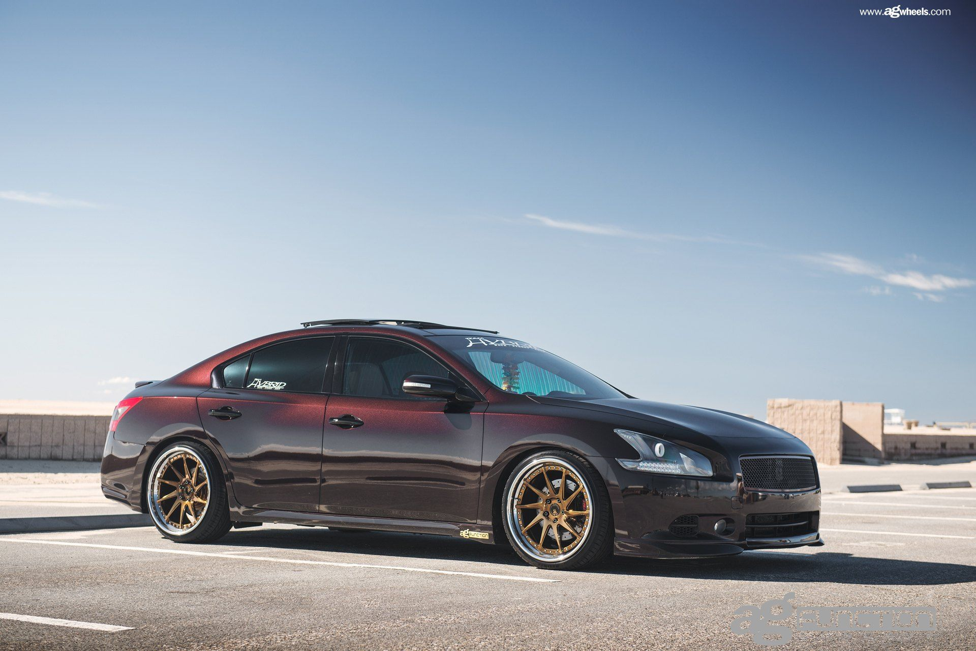 Nissam Maxima With A Clean Stance By Avant Garde Nissan Maxima Maxima Nissan