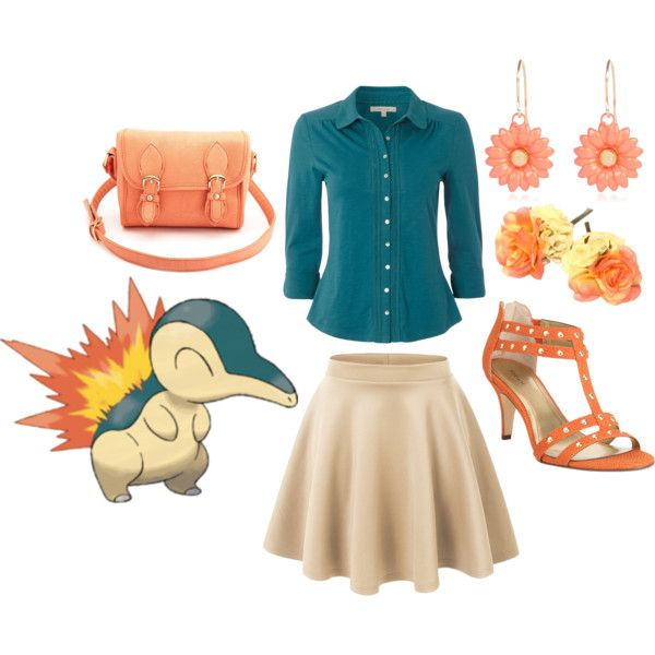 Cyndaquil, created by catloverd on Polyvore