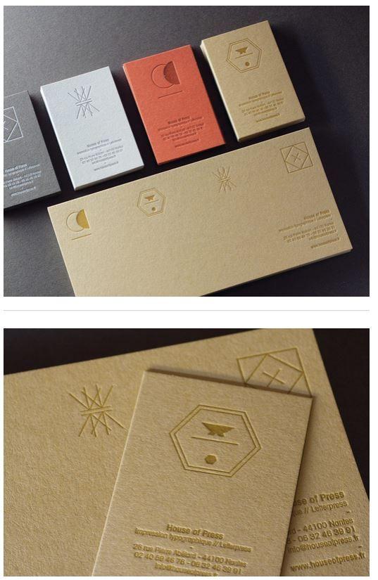 Letterpress Paper Materica 360 G Graphic Design Business Card Unique Business Cards Business Card Design