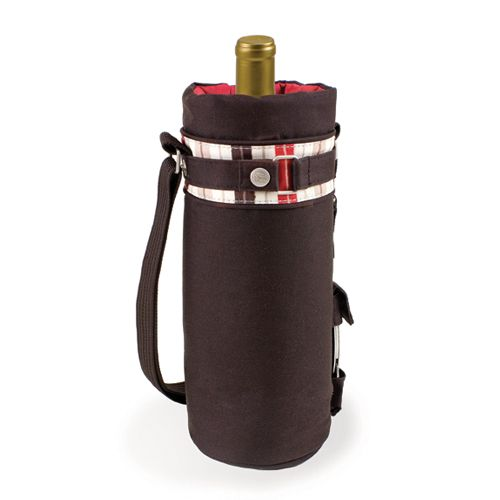 """Picnic Time """"Wine Sack-Moka"""" Tote  An attractive, single bottle, insulated tote."""