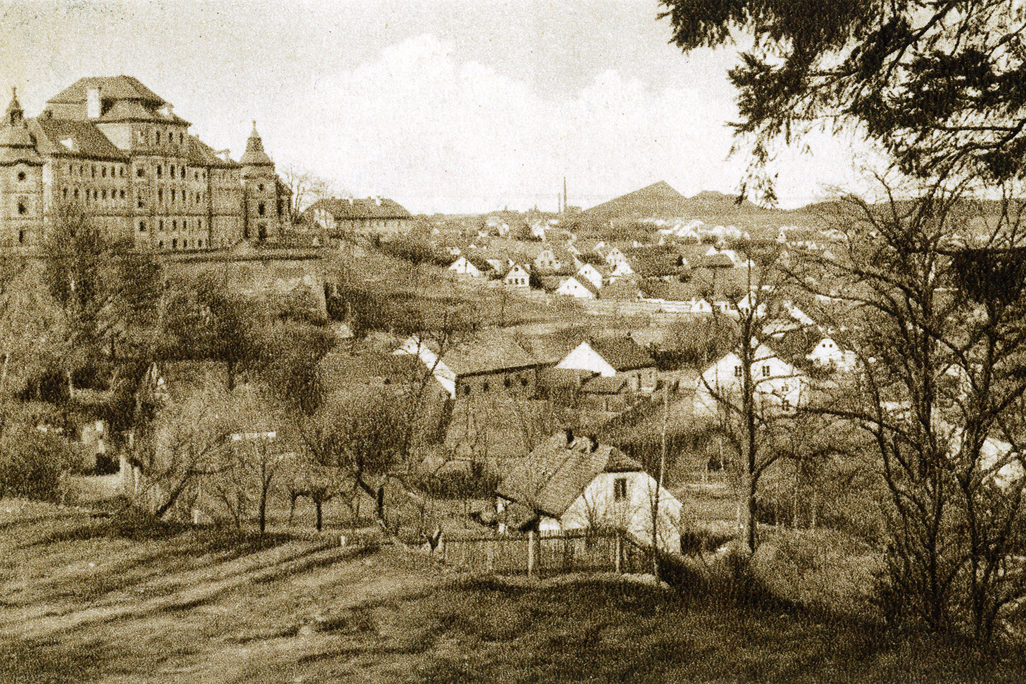 chotěšovský klášter z kalaberku