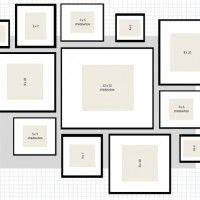Galleria foto come disporre i quadri alle pareti foto 1 for Cornici foto ikea
