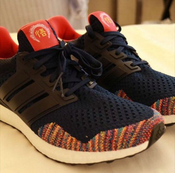 official photos 4944c 945dd Adidas Ultra Boost Chinese New Year China Factory Authentic Shoe