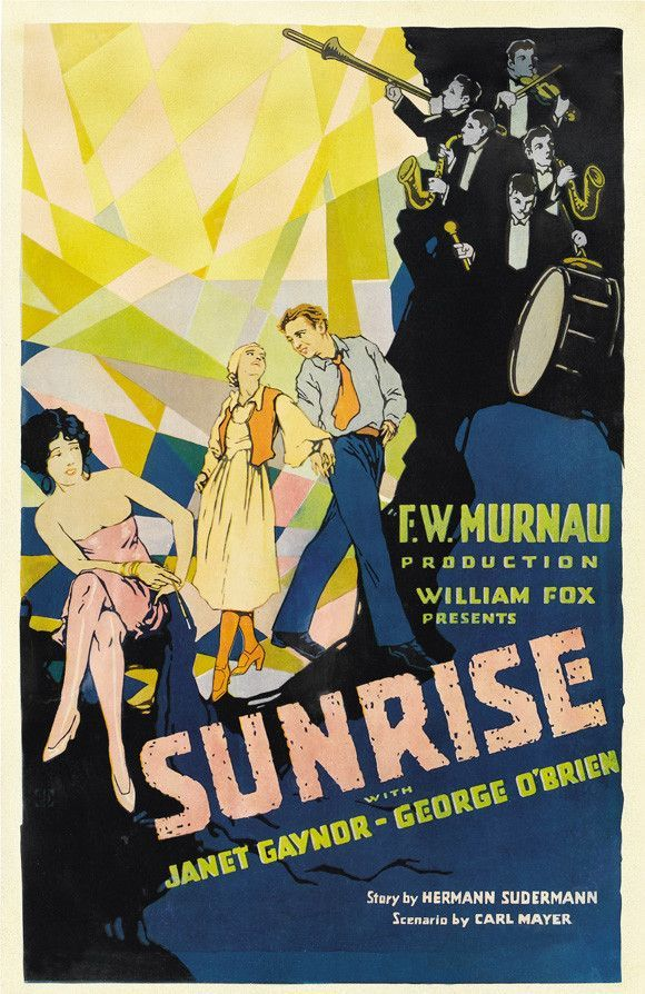 Sunrise 27x40 Movie Poster (1927)