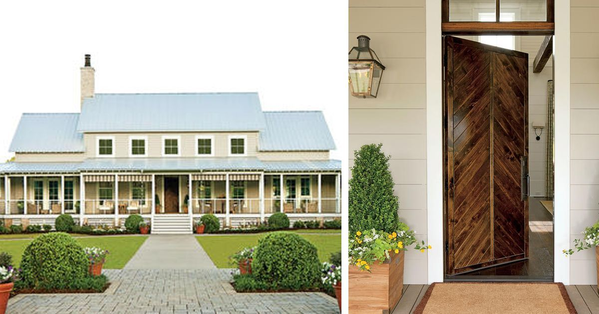 This Beautiful Farmhouse Was Featured In Southern Living Magazine As An Idea House