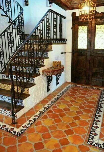 Beautiful entryway HOME DECOR Pinterest Pisos, Escalera y Casas
