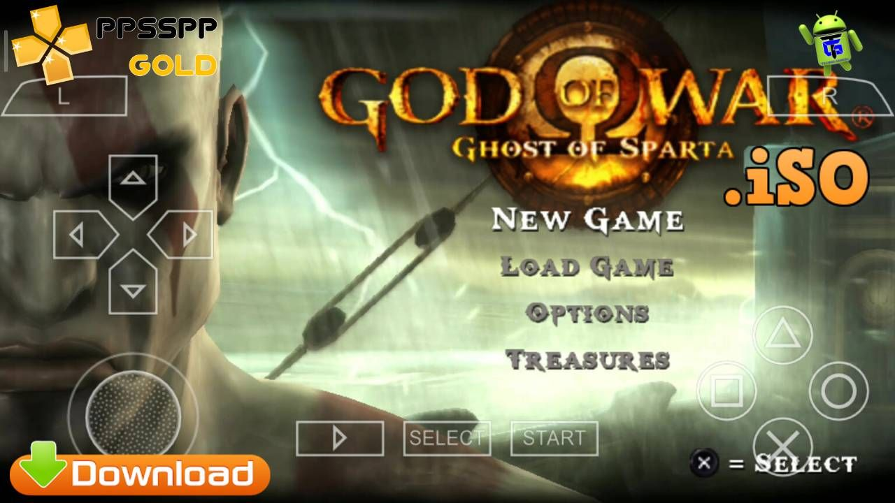 God of war 3 psp download 200mb