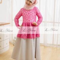 Baju Muslim Anak Model Kebaya Girls Fashion Model Kebaya Kebaya