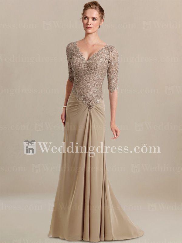Taffeta Ruffled Wedding Dress with Lace Appliques BG004 | Brautmode ...