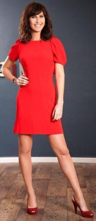 Aurelie Hemar   Red Shoes - Célébrités Présentatrices Chaussures ...
