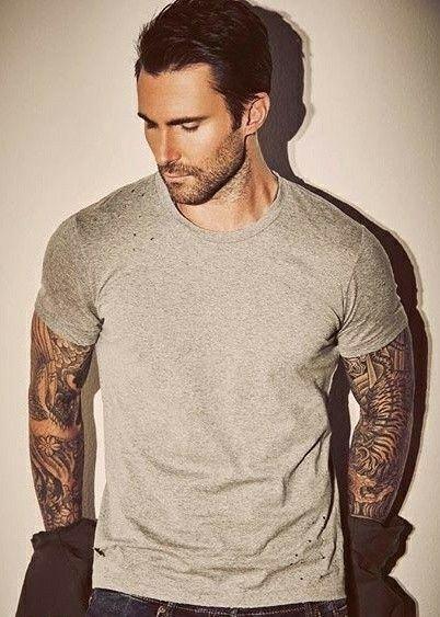 Adam Levine Tattoo Meme : levine, tattoo, Hotness!