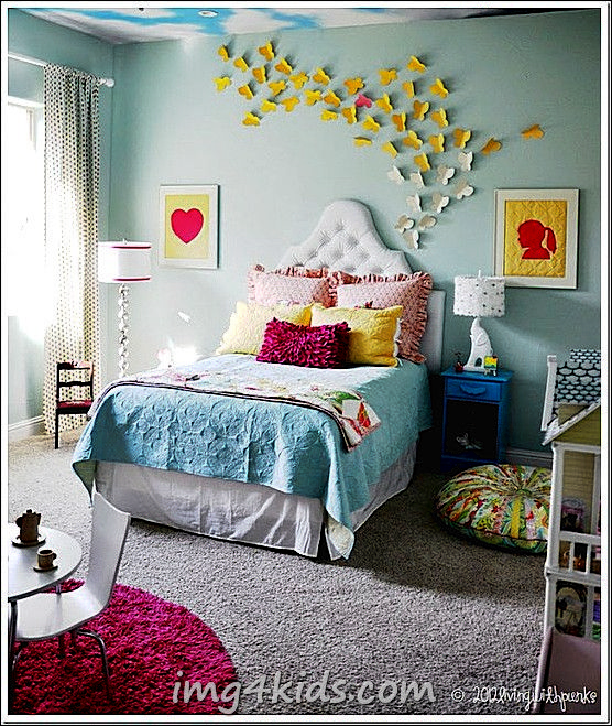 10 Cool Toddler Girl Room Ideas - foto 2-4 on Img4Kids.Com