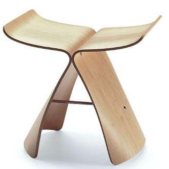 Sori Yanagi Butterfly stool
