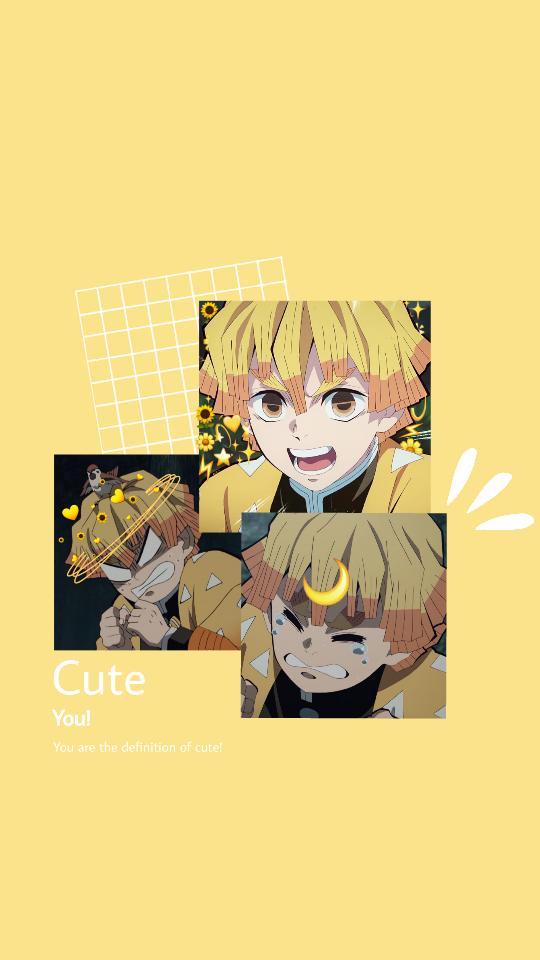 Freetoedit Zenitsu Kimetsunoyaiba Demonslayer Wallapaper Anime Animeboy Animewallpape Anime Wallpaper Phone Cute Anime Wallpaper Anime Wallpaper Iphone