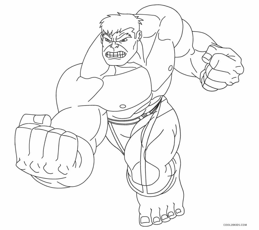 printable hulk coloring book pages | Free Printable Hulk Coloring Pages For Kids | Cool2bKids ...