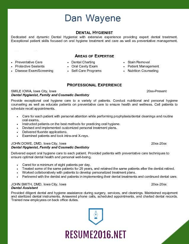 Dental-assistant-resume-template-2016-3.jpg (638×825) | resume ...