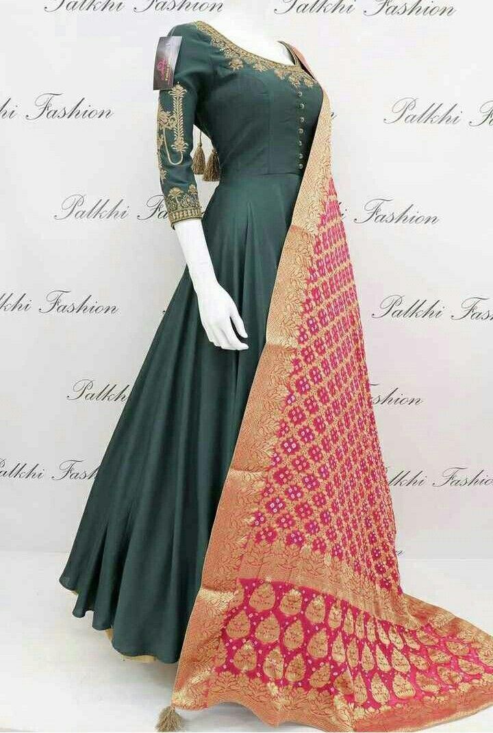 Daljeet singh gill also blue soft silk designer outfit with gorgeous pashmina duppata rh pinterest