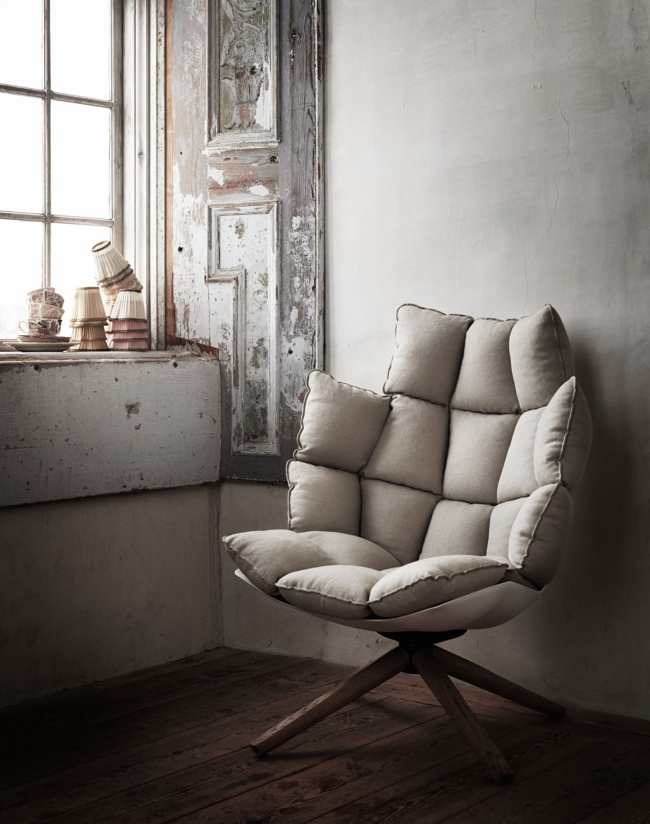 Husk Sessel The Husk Chair By Patricia Urquiola For B Andb Italia Is The